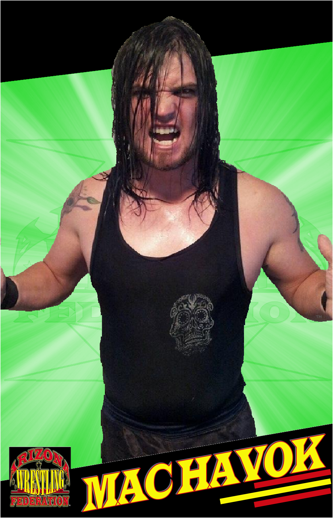 Mac Havok - Arizona Wrestling Federation